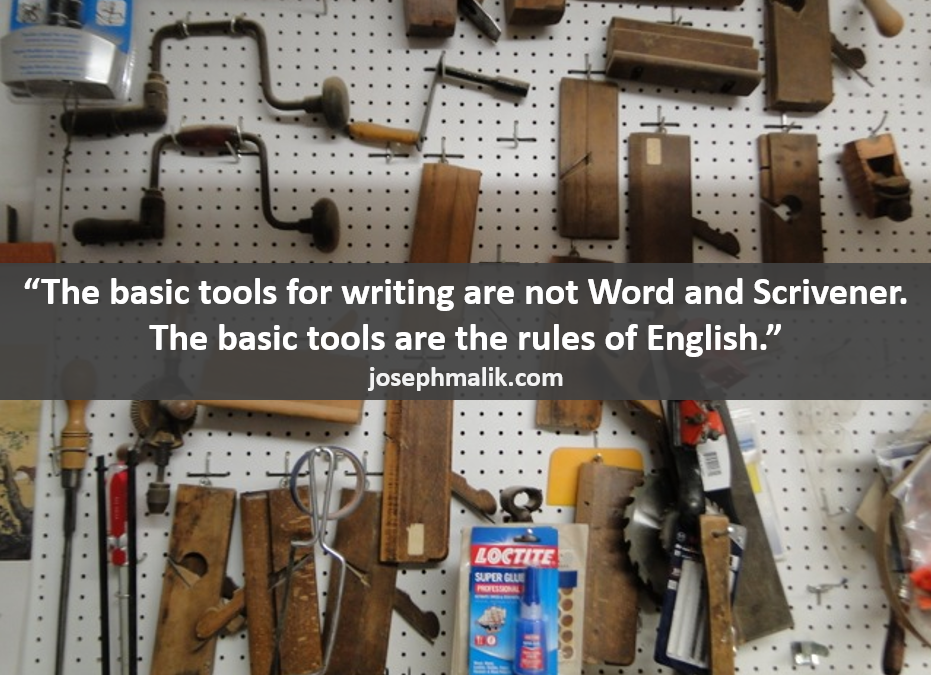 Talking Tools: Writing Basics