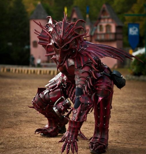 My Faerie knights wear armor this detailed, with every suit unique. Theyhave decades and even centuries to make it into a work of self-expression.