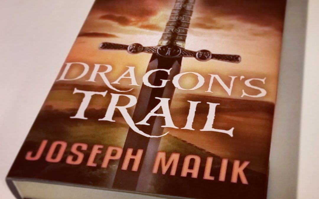Dragon's Trail Hardcover Release Oct 3, 2017!